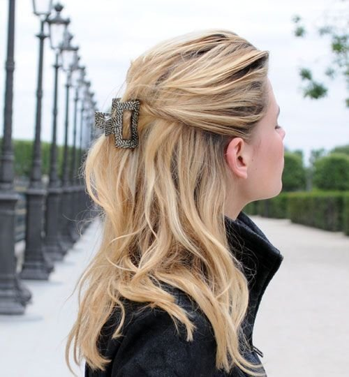 New 16 Best Claw Clip Hairstyles Get Classy In Seconds Blog Ideas With Pictures