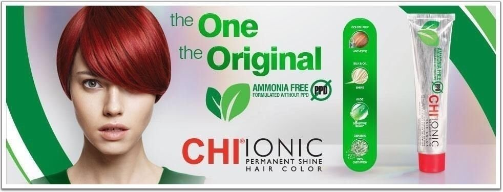 New Chi Ionic Ppd And Ammonia Free Permanent Hair Color 6A Ideas With Pictures