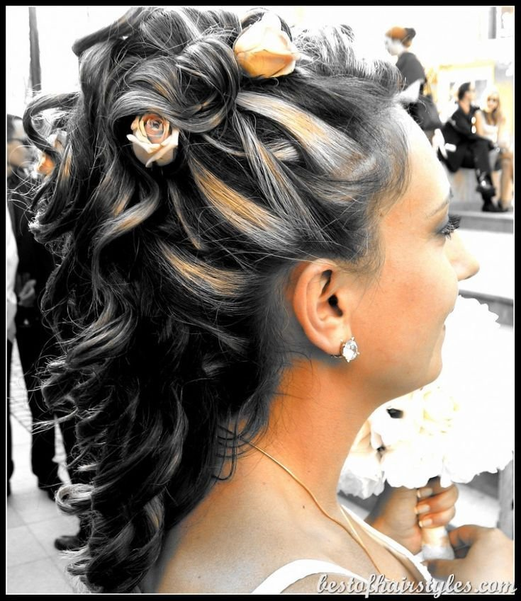 New 643 Best Updo Hairstyles Images On Pinterest Hair Dos Braids And Bridal Hairstyles Ideas With Pictures