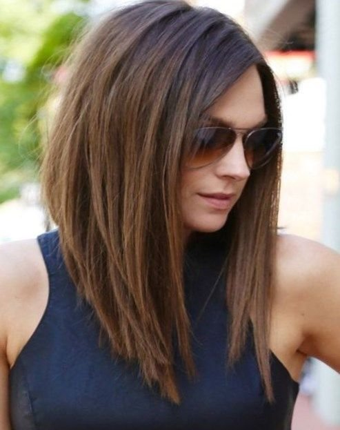 New Shoulder Length Hair Style Round Face Newhairstylesclub Ideas With Pictures