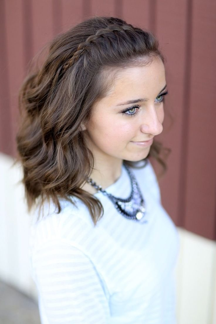 New Faux Waterfall Braid Headband And More Hairstyles From Ideas With Pictures