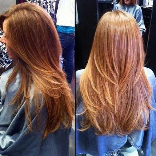New 20 Long Layered Straight Hairstyles Haircuts Ideas With Pictures