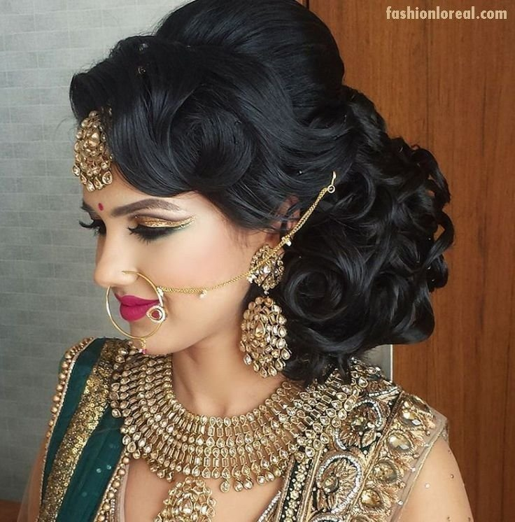 New Best 25 Indian Hairstyles Ideas On Pinterest Indian Wedding Hairstyles Indian Wedding Hair Ideas With Pictures