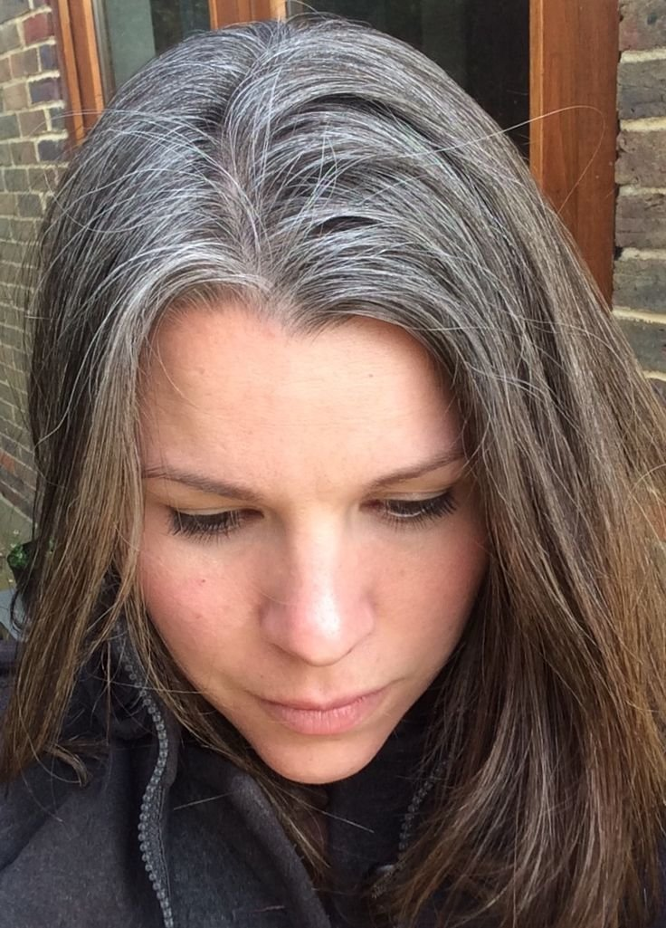 New 387 Best Growing Out Gray Hair Inspiration Images On Ideas With Pictures