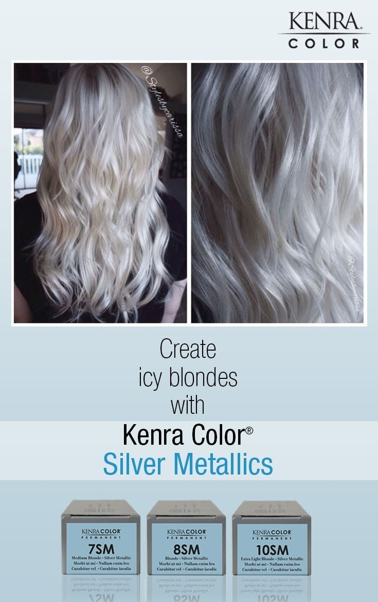 New White Hair With Kenra Silver Metallic 10Sm Google Search Ideas With Pictures