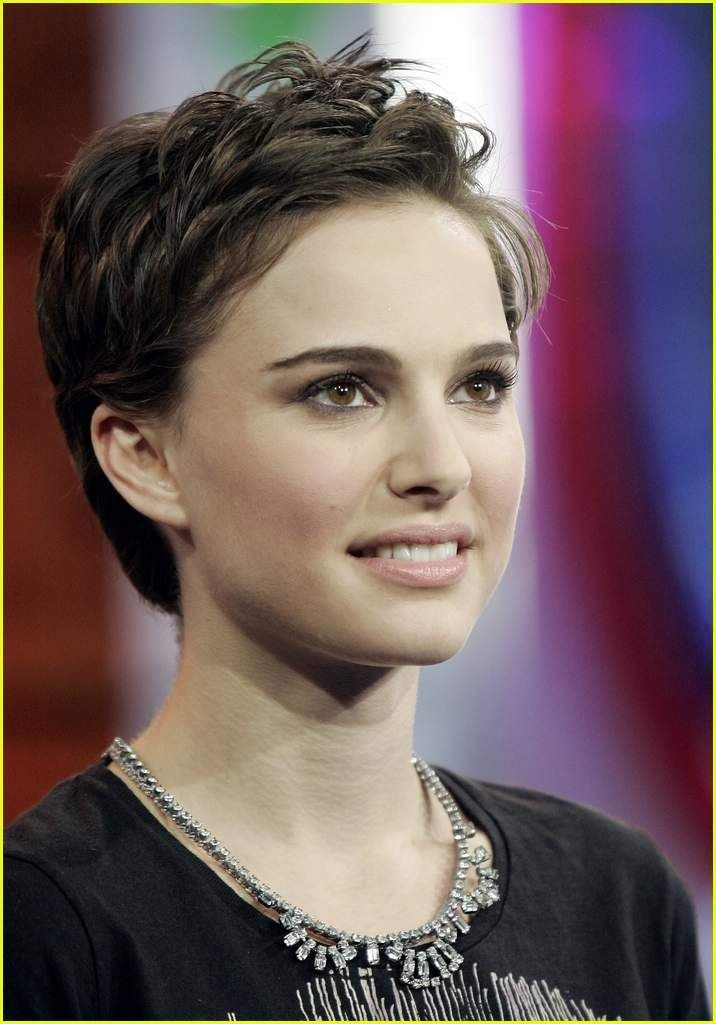 New Natalie Portman Short Hair Natalie Portman Trl Natalie Ideas With Pictures