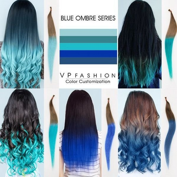 New Top 5 Black Brown Hair Extensions With Blue Tips On Blog Ideas With Pictures