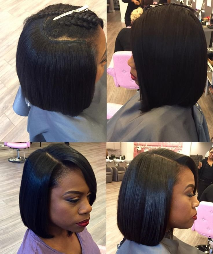 New Pin By Levoria On Quick Weave In 2019 Quick Weave Bob Quick Weave Hairstyles Bob Weave Ideas With Pictures