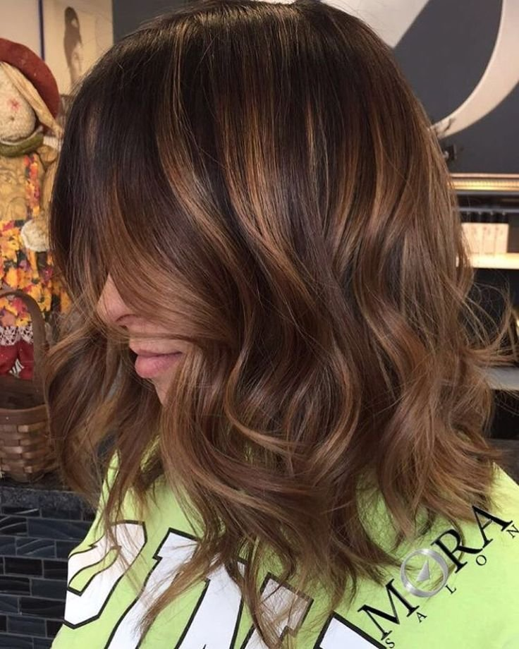 New 60 Looks With Caramel Highlights On Brown And Dark Brown Ideas With Pictures