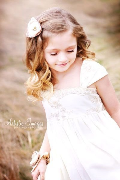 New 38 Super Cute Little Girl Hairstyles For Wedding Chase S Ideas With Pictures