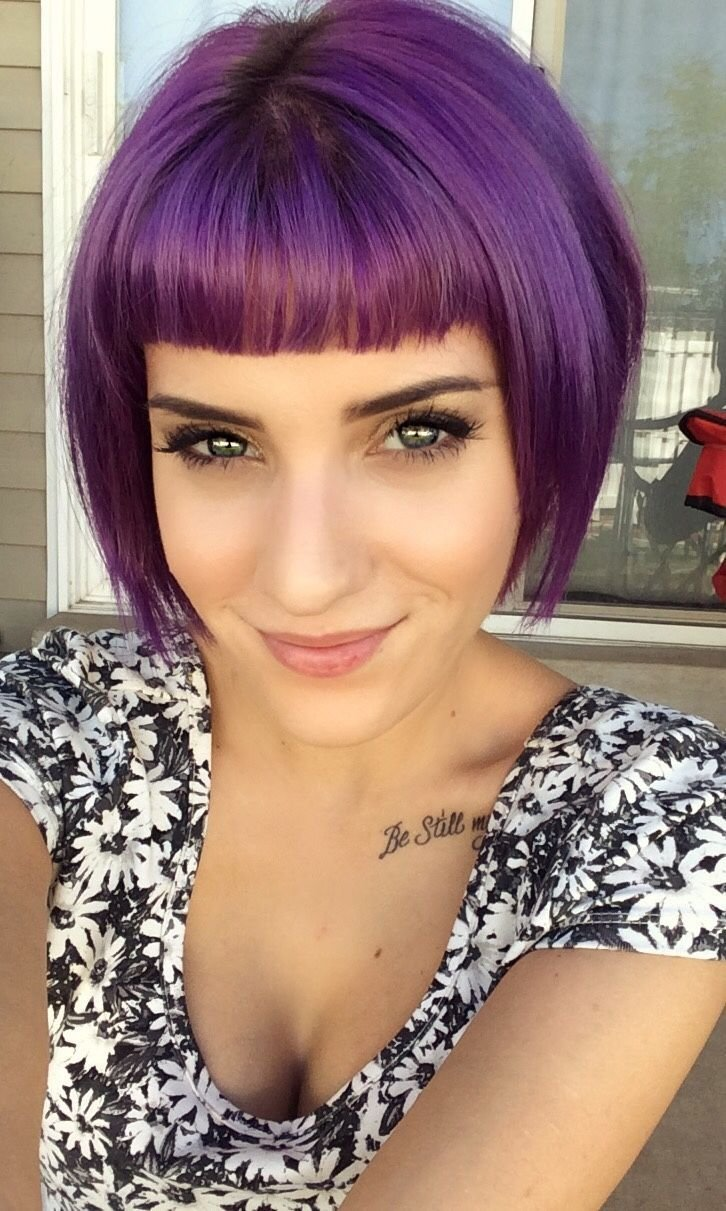 New Purple Hair This Needs To Happen I Don T Think I Can Ideas With Pictures