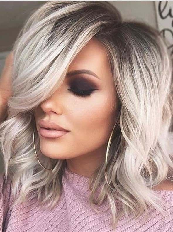 New Perfect Medium Blonde Hairstyles Trends For 2019 Medium Ideas With Pictures