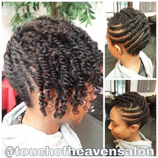 New Natural Hair Updo Two Strand Twists Www Ideas With Pictures