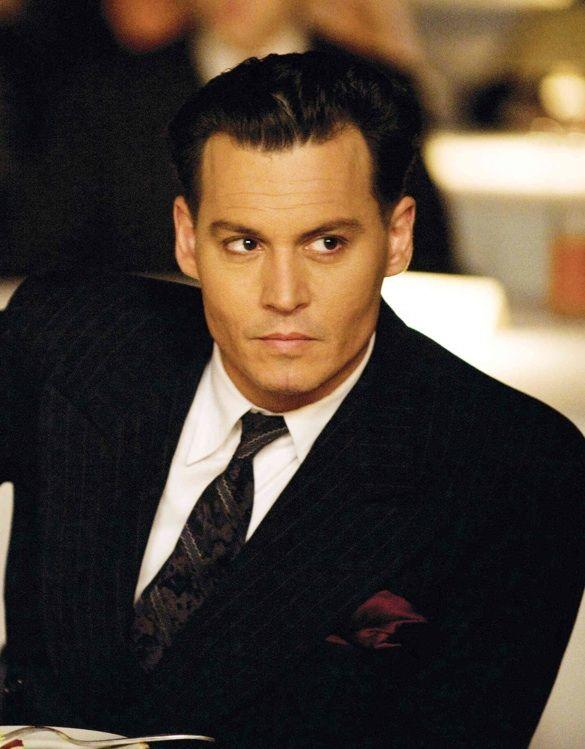 New Johnny Depp As John Dillinger In Public Enemy Sporting A Ideas With Pictures