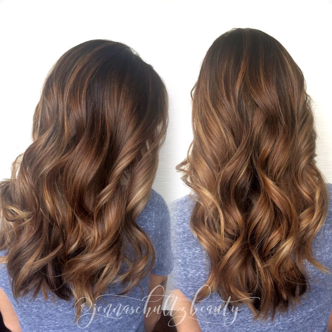 New Golden Balayage Highlights By Jenna Schultz In Colorado Ideas With Pictures