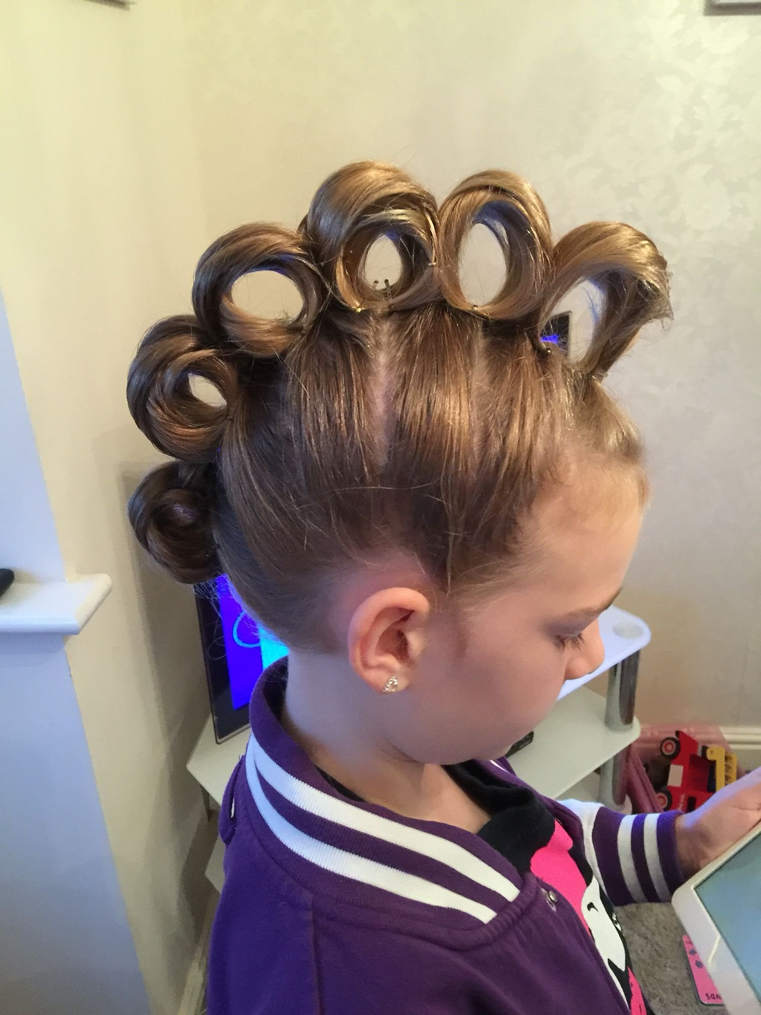 New Rolling Mohawk For Crazy Hair Day Hair Crazy Hair Days Ideas With Pictures