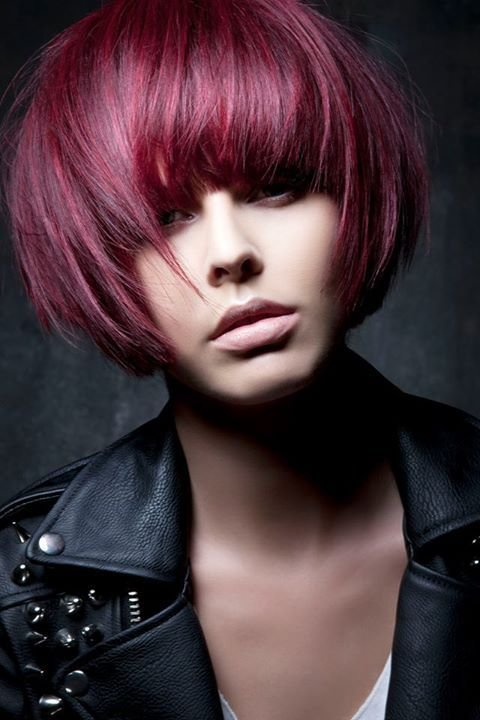 New Punk Chic Mariadowling Collection 2013 It S About The Girl Red Hair Bob Bobhairstyle Ruth Ideas With Pictures