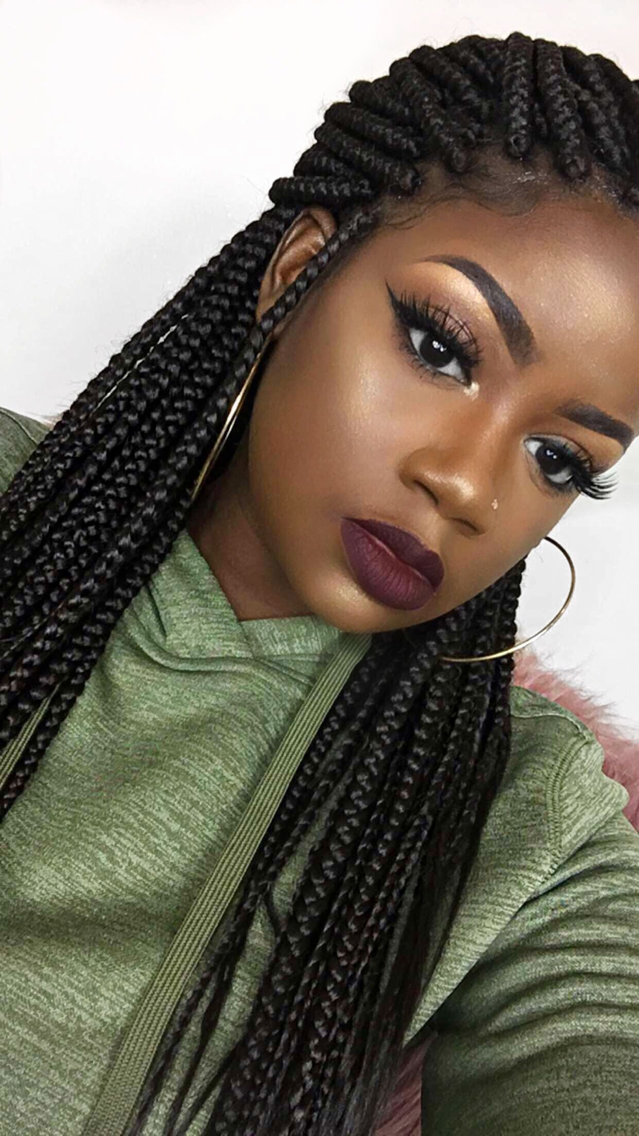 New Ig Anicolec Box Braids Black Hairstyles Braids Box Ideas With Pictures