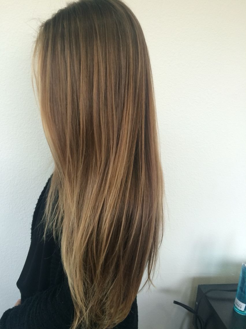 New Soft Golden Natural Balyage Hair Pinterest Cabello Ideas With Pictures