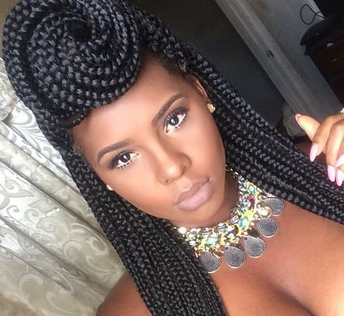 New 50 Exquisite Box Braids Hairstyles That Really Impress Ideas With Pictures