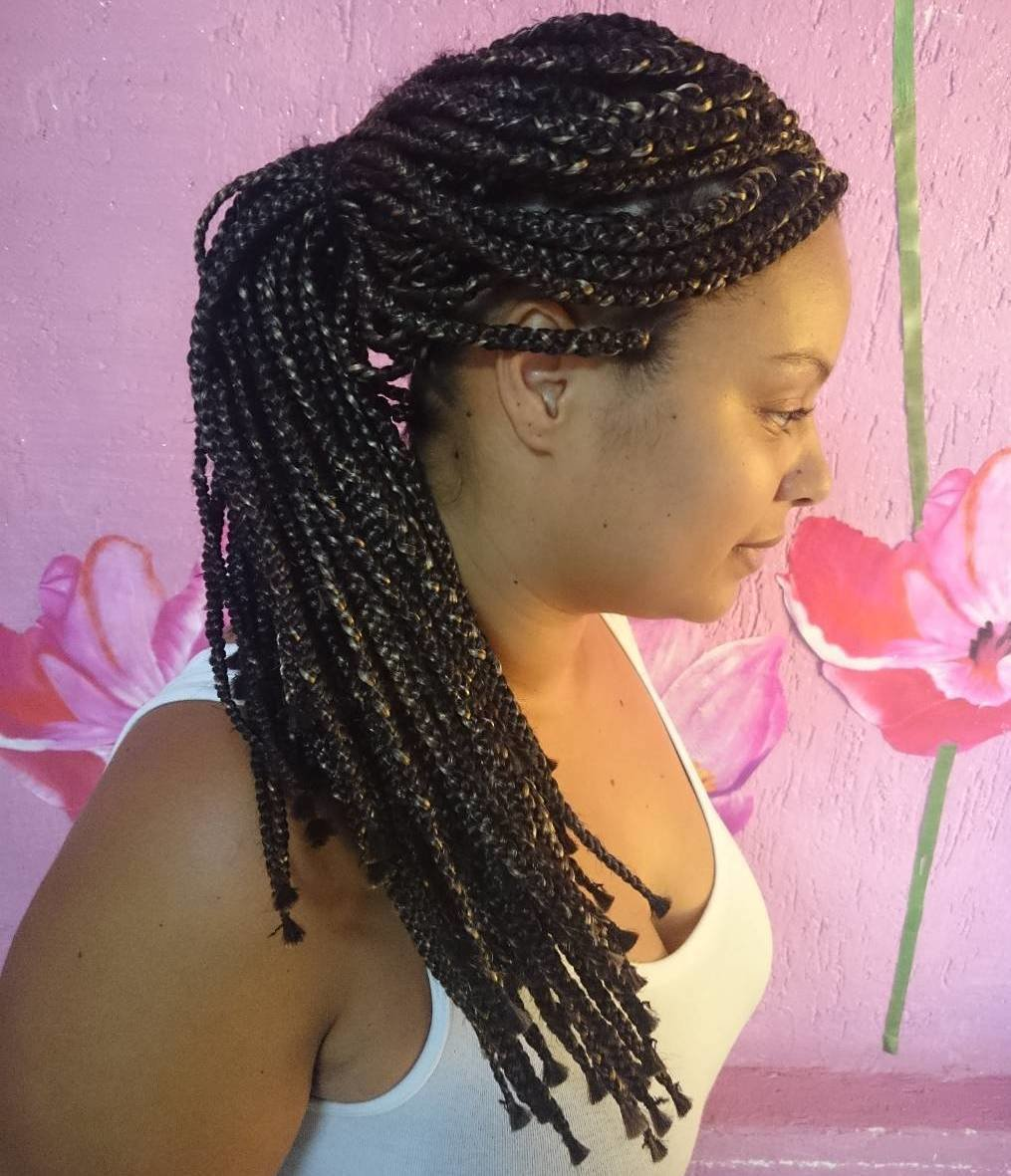 New Top 20 Box Braids Updo Hairstyles Ideas With Pictures