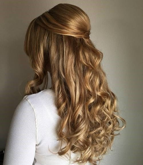 New 50 Half Up Half Down Hairstyles For Everyday And Party Looks Ideas With Pictures