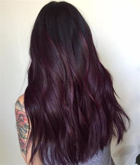 New 20 Plum Hair Color Ideas For Your Next Makeover 2019 Update Ideas With Pictures