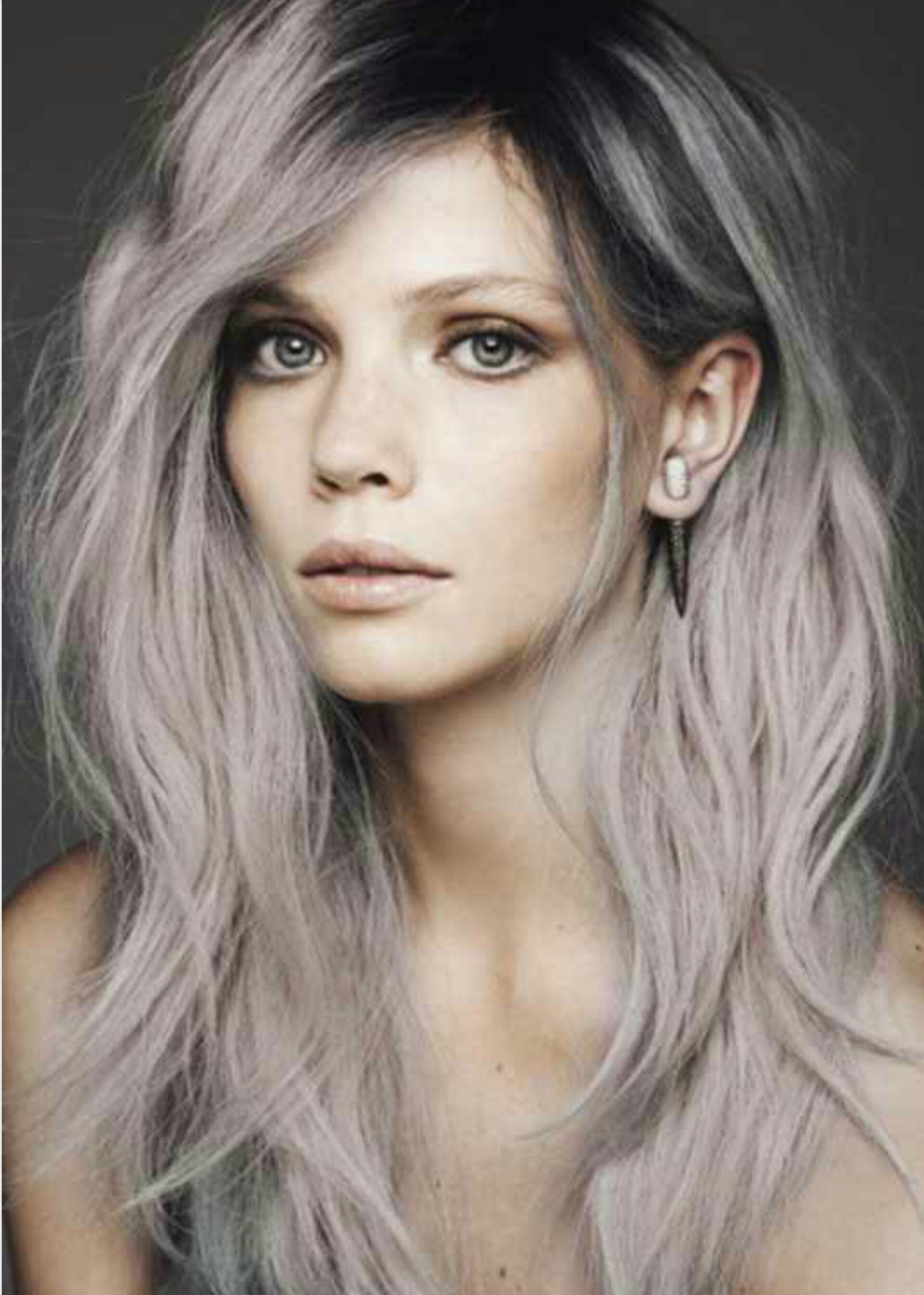 New Trend Alert Grey Hair La Femme Rebelle Clothing Ideas With Pictures