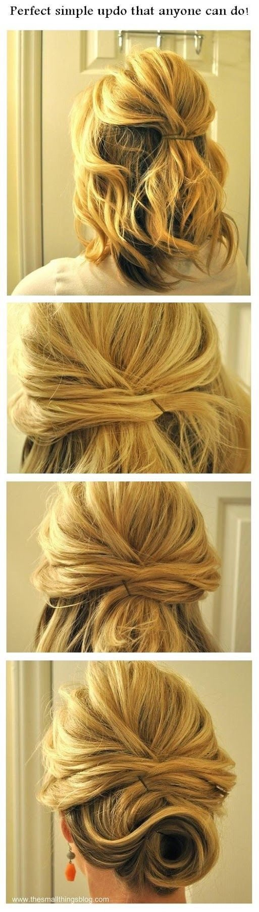 New 10 Amazing Step By Step Hairstyles For Medium Length Hair Ideas With Pictures