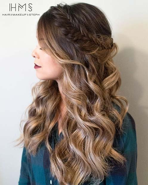 New 27 Gorgeous Prom Hairstyles For Long Hair Stayglam Ideas With Pictures