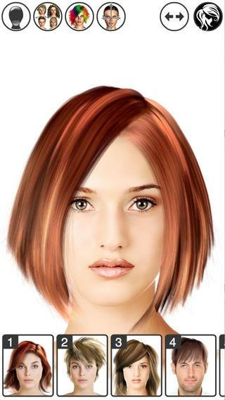 New App Of The Day Hairstyle Magic Mirror Change Your Look Lite Ideas With Pictures