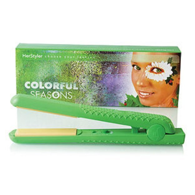 New Herstyler Colorful Seasons Ceramic Hair Straightener Ideas With Pictures