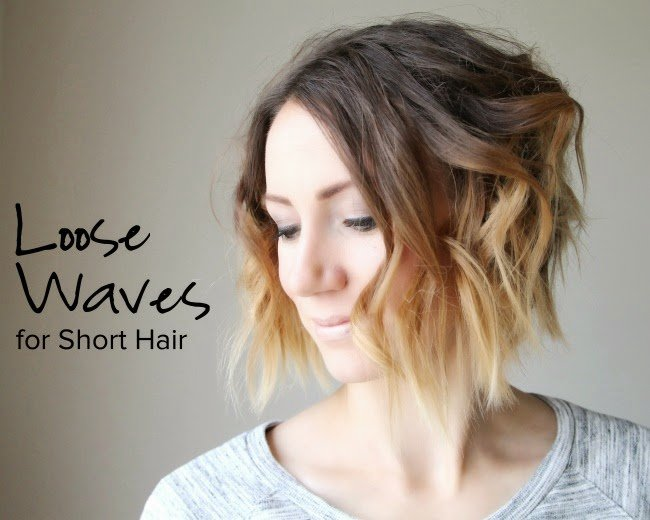 New Loose Curls For Short Hair Video Tutorial One Little Momma Ideas With Pictures