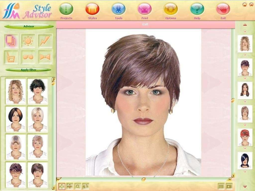 New Try On Hairstyles Online Free Fade Haircut Ideas With Pictures