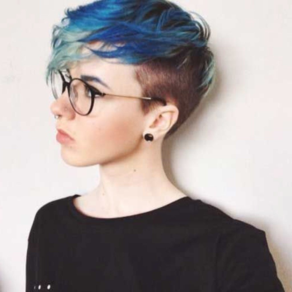 New Short Hair With Shaved Side Uphairstyle Ideas With Pictures