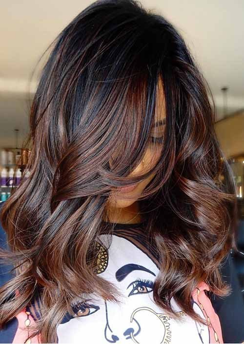 New 10 Delicate Spring Hair Color For Brunettes Balayage 2019 Ideas With Pictures