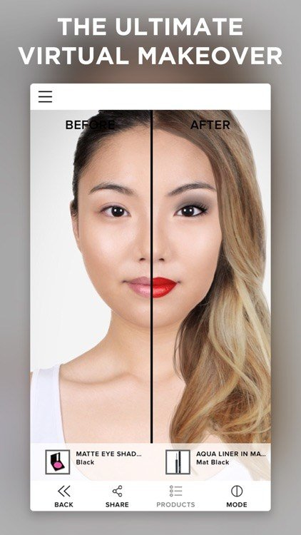 New Virtual Makeover By Modiface Ideas With Pictures