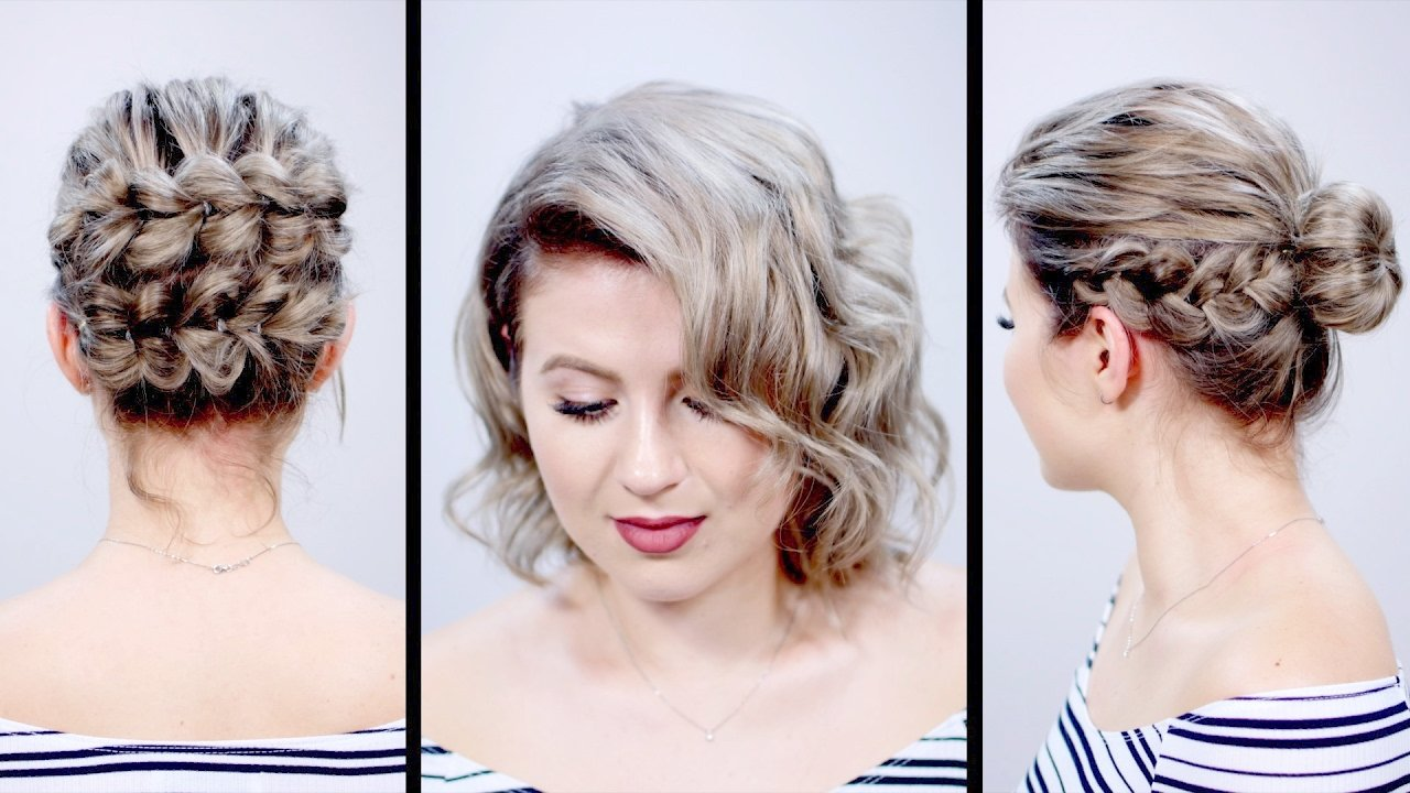 New Valentine S Day Inspired Short Hairstyles Tutorial Ideas With Pictures
