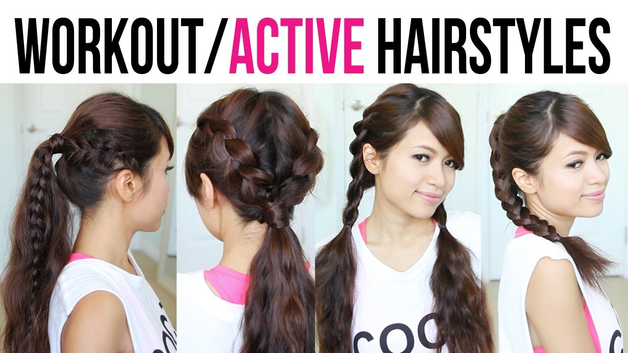 New Cute Easy Back To School Gym Hairstyles For Medium To Ideas With Pictures