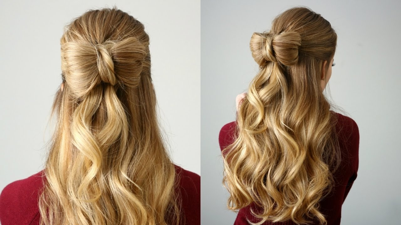 New Half Up Hair Bow Missy Sue Youtube Ideas With Pictures