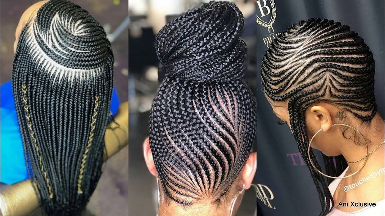 New 2019 Braided Hairstyles Fashionable Best Cornrows And Ideas With Pictures