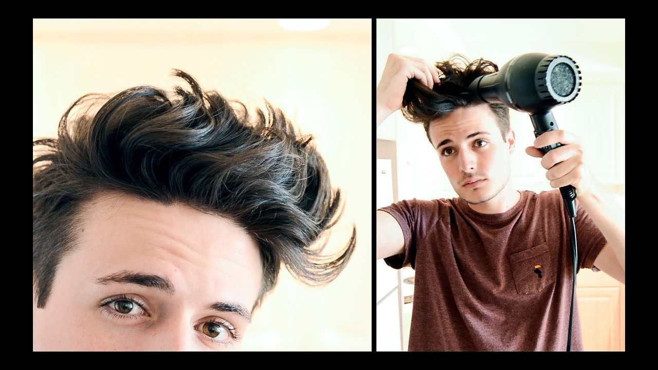 New Mens Hairstyle Messy Textured Beachy Hair Tutorial Ideas With Pictures