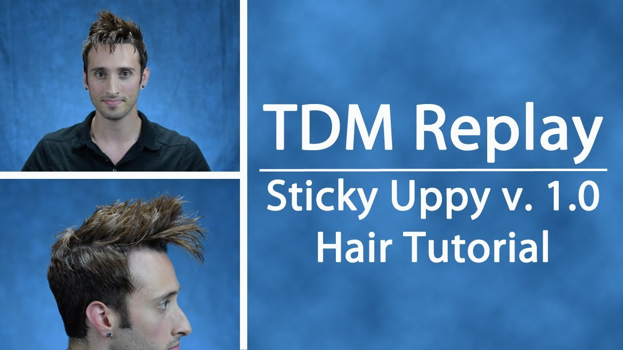 New Tdm Replay Sticky Uppy V 1 Tennant Hair Tutorial Ideas With Pictures