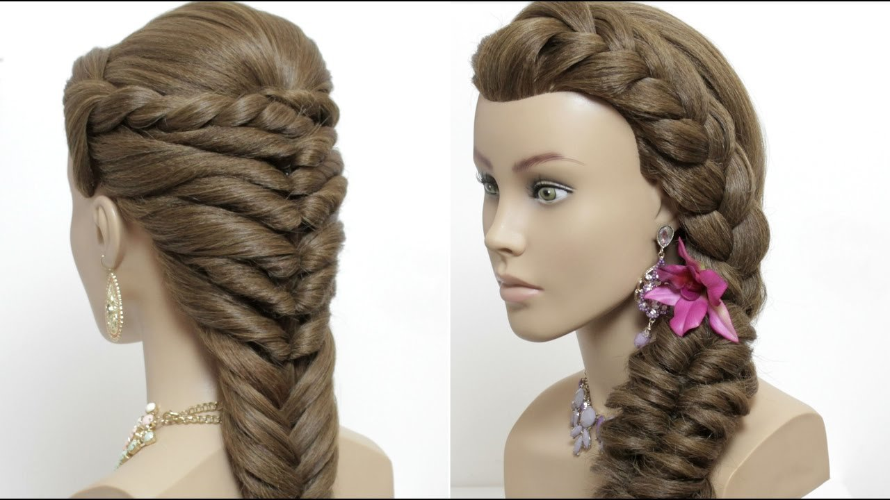 New 2 Easy Hairstyles For Long Hair Tutorial Cute Summer Ideas With Pictures