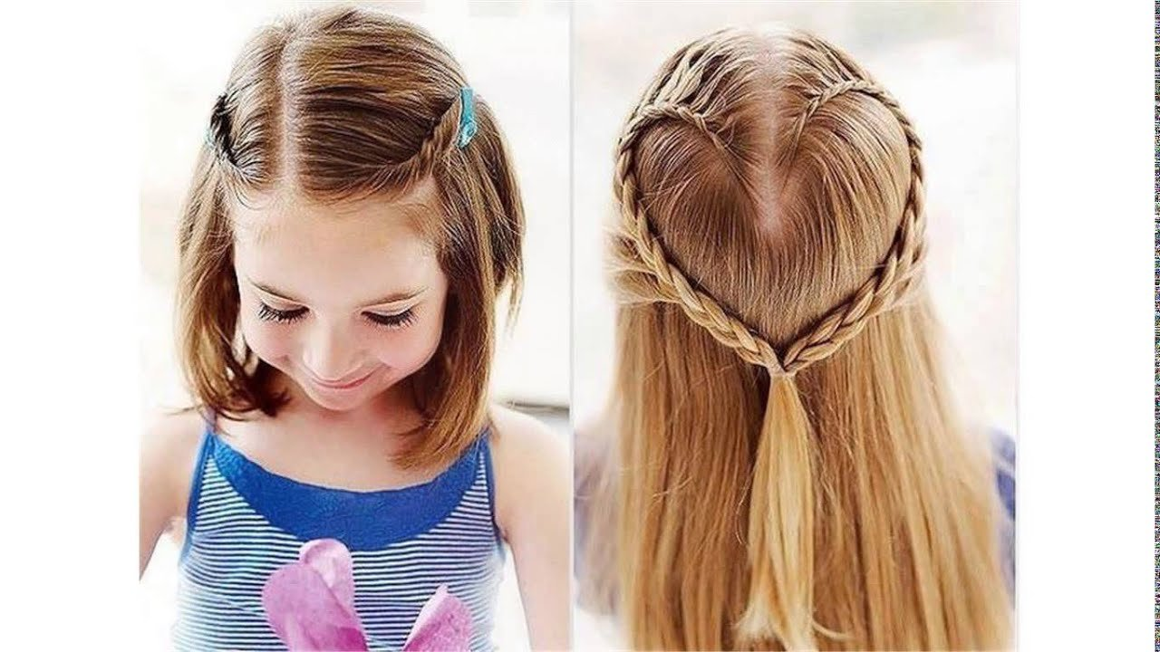 New Cute Hairstyles For School For Short Hair Youtube Ideas With Pictures