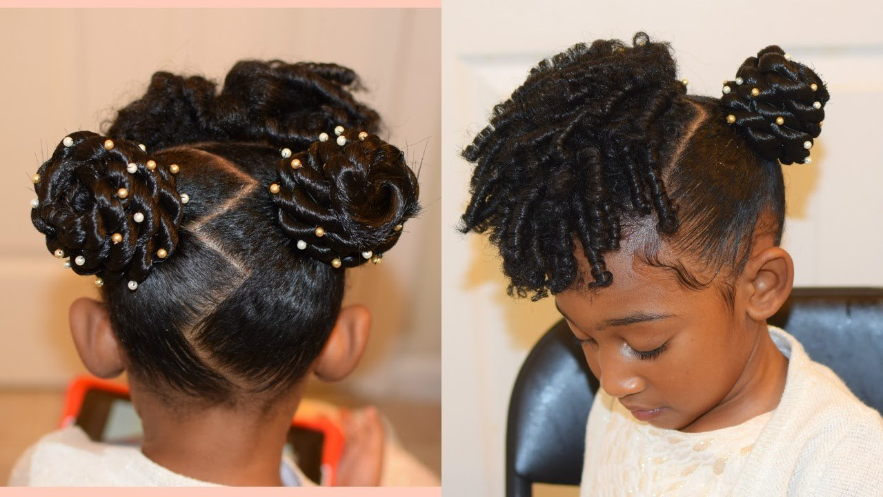 New Kids Natural Hairstyles The Buns And Curls Easter Ideas With Pictures
