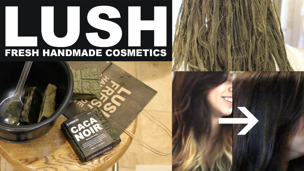 New Lush Henna Hair Dye On Ombre Hair Tutorial Review Youtube Ideas With Pictures