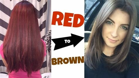 New Removing Red Haircolor Common Mistakes Salon Fix Youtube Ideas With Pictures