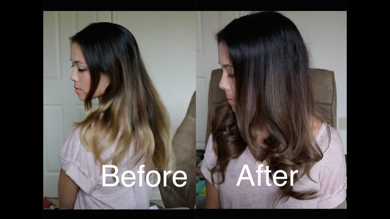New How To Darken An Ombré With Wella Demi Permanent Hair Dye Ideas With Pictures