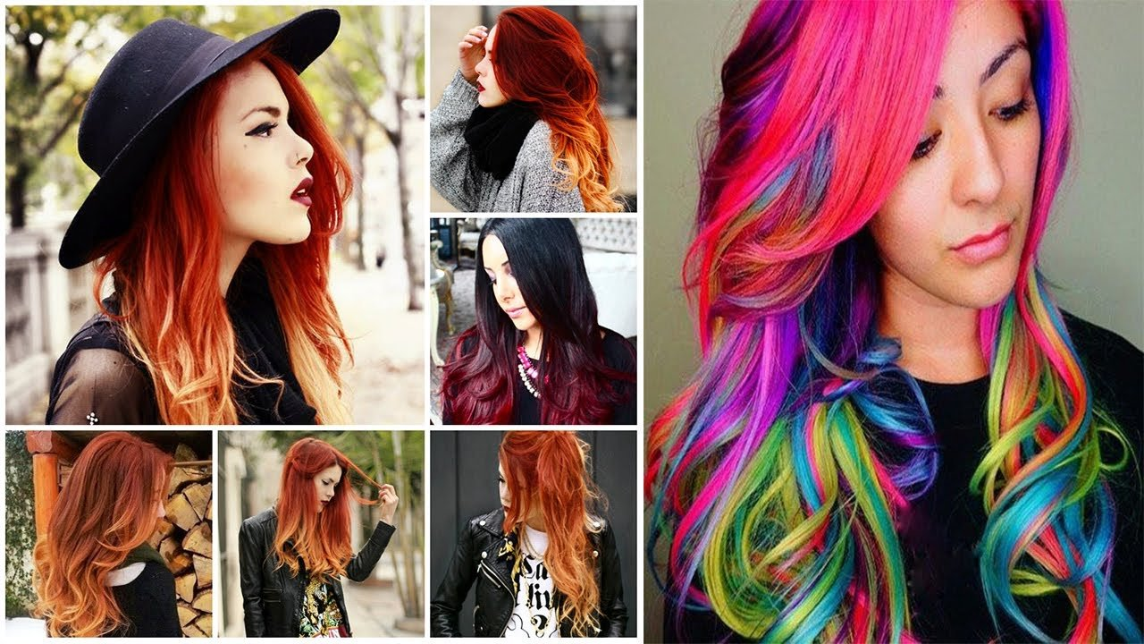 New Cool Hair Colors Cool Hair Color Ideas Cool Colors Ideas With Pictures